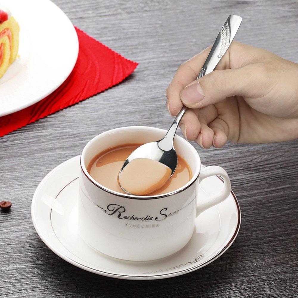 Nicesh 30 Pieces Stainless Steel Flatware Cutlery Silverware Service for 6
