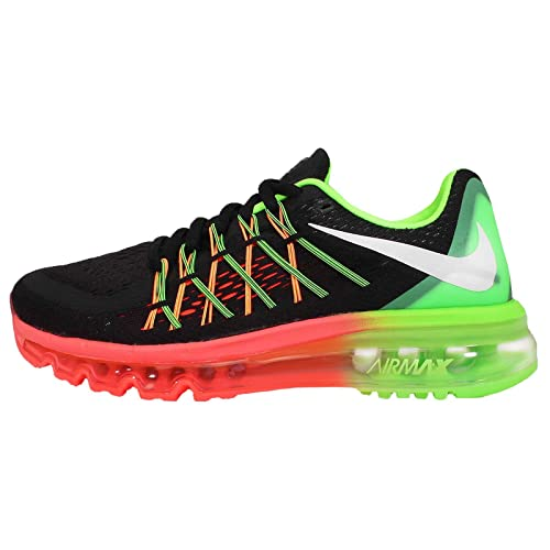 timeless design a0ac1 7d5b4 Nike Women s WMNS Air Max 2015 Black White Running Shoes-3 (698903-