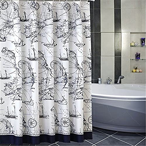 Nautical Bathroom Decor Amazonca - Nautical bathroom window curtains
