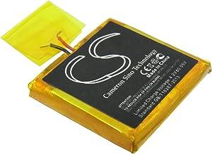 Cameron Sino 100mAh Replacement Battery for Apple iPod Shuffle G2 1GB, Apple iPod Shuffle G3 with 7/pcs Toolskits