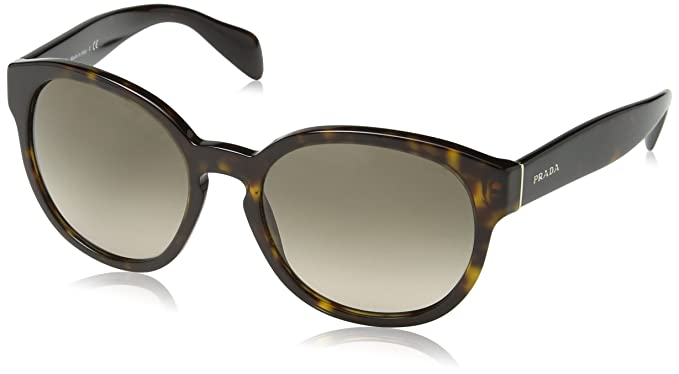 Prada Sonnenbrille 18Rs Opal Brown On Brown, 56