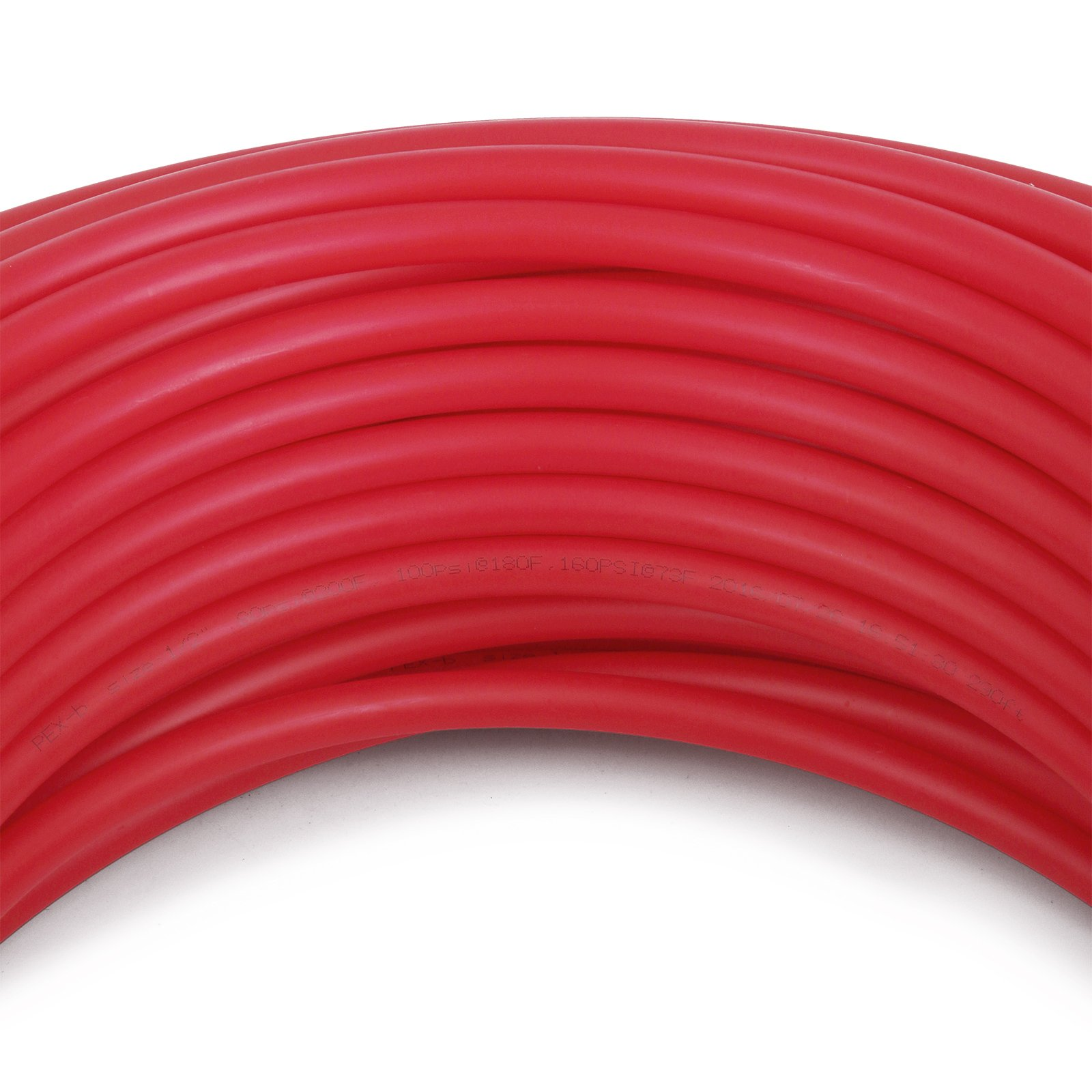 OrangeA PEX Tubing 1/2 Inch Potable Water Pipe 2 Rolls X 300Ft Tube Coil PEX-B Non Oxygen Barrier Piping for Hot Cold Plumbing and Radiant Floor Heating Applications by OrangeA (Image #7)