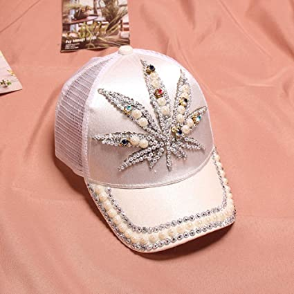 zhuzhuwen Sombreros para niños, señoras, Hojas de Verano ...