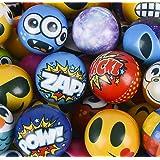 happy deals Stress Balls Bulk Value Assortment (100 Pack) Stress Relax Toy Balls,