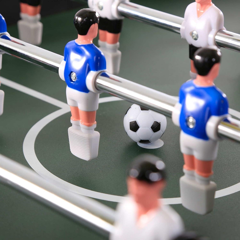 SAMAX Futbolín Plegable Mesa de fútbol Fútbol Tabla Pateador Fútbolista Deporte: Amazon.es: Deportes y aire libre