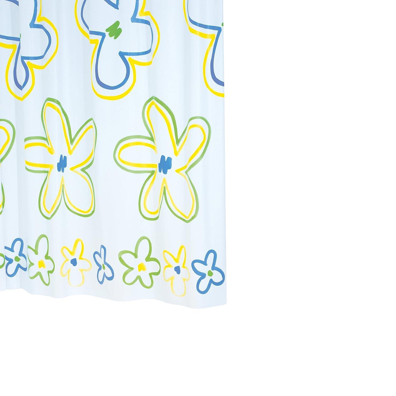 Ridder Woodstock 343000-350 Tenda per doccia in vinile 180x200 cm colore: Multicolore