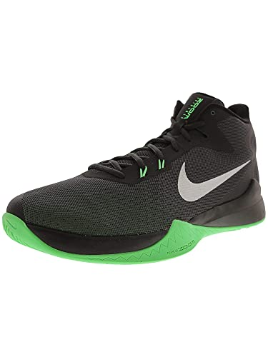 best sneakers 13f6a 84a88 Nike Men s Zoom Evidence Basketball-Shoes, Anthracite Metallic Silver Black,  11