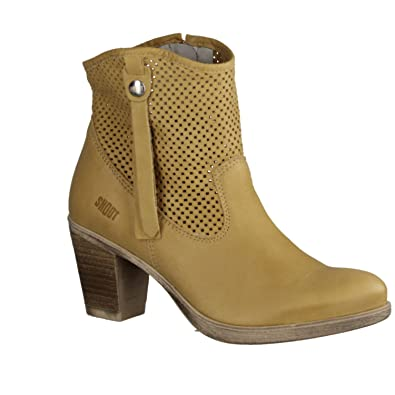 SHOOT Shoes Damen Sommer Stiefelette SH 15038 Leder Boots