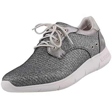 Mustang Damen Sneaker Grau, Schuhgröße:EUR 41