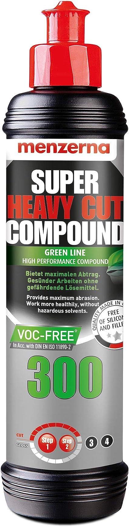 Menzerna Super Heavy Cut Compound 300 Green Line Voc Free 250 Ml Auto