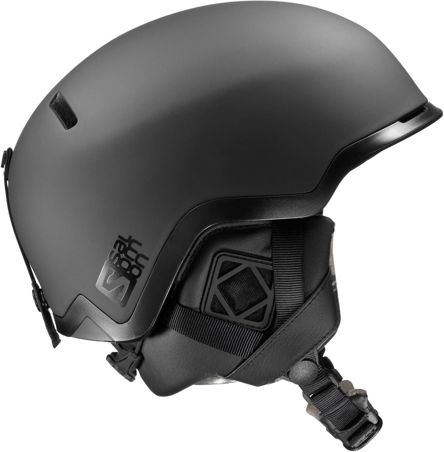 サロモン(SALOMON) スキーヘルメット HACKER (ハッカー) 黒 Small