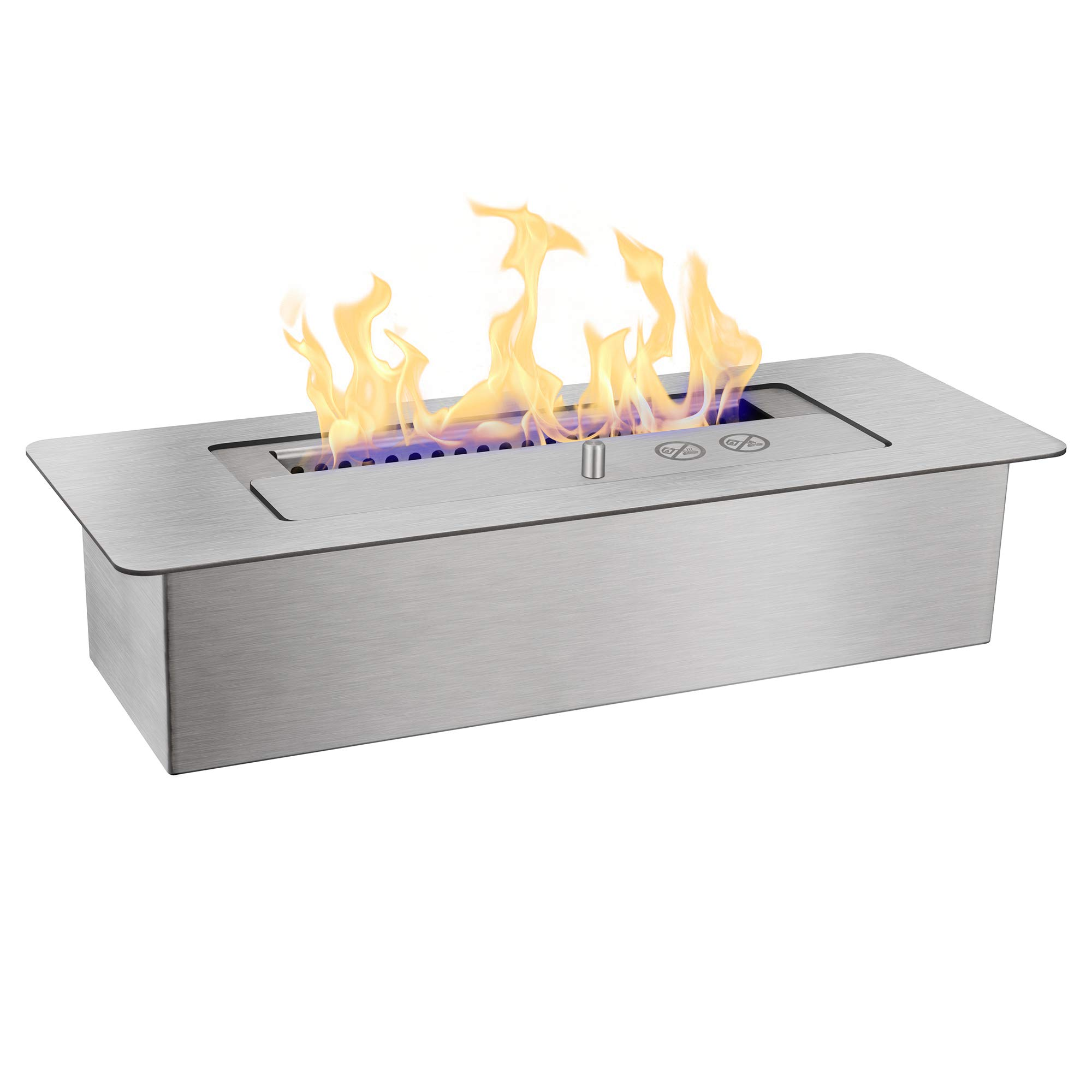 Xbeauty PRO 12 Inch Bio Ethanol Fireplace Burner Insert - 1.5 Liter by Xbeauty