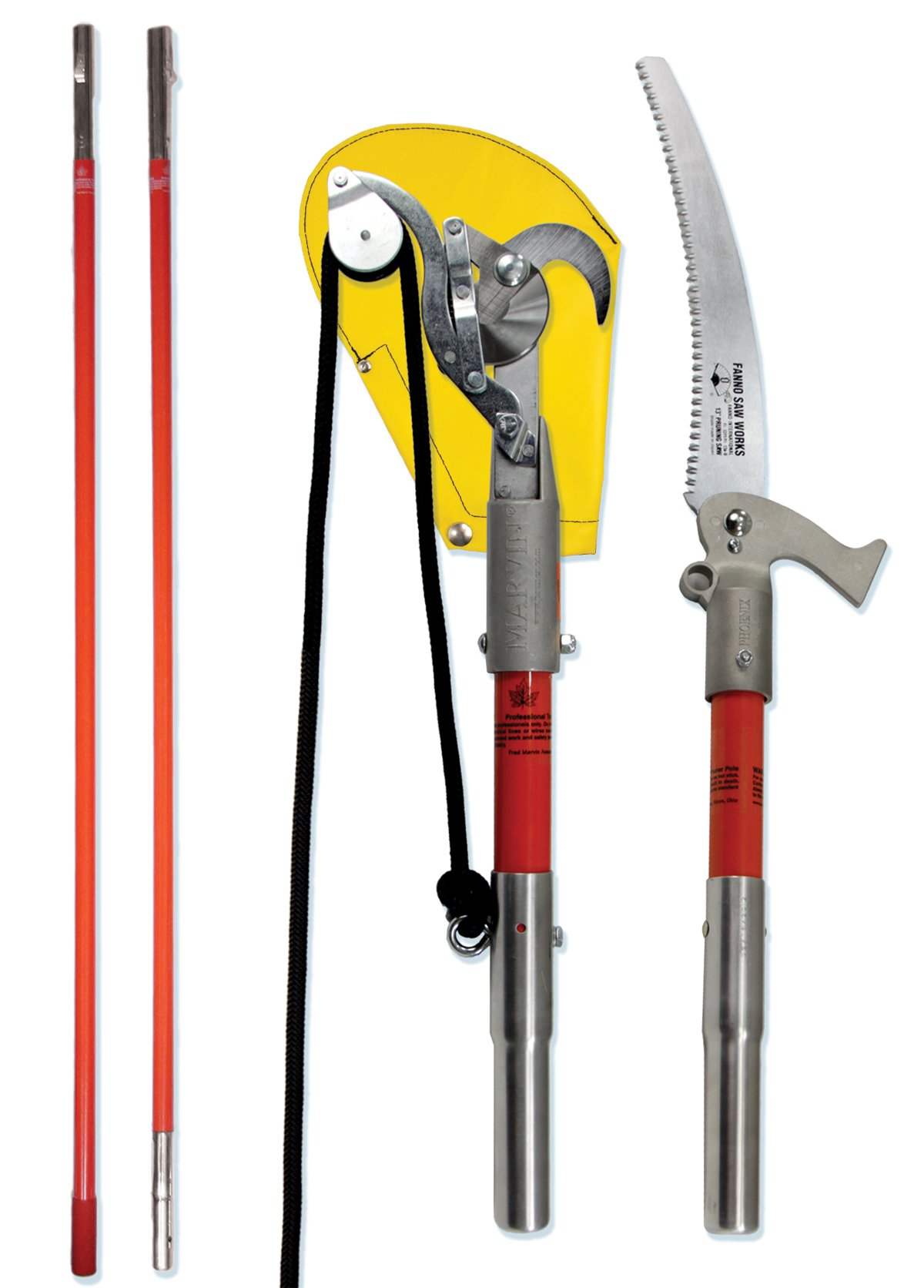 Works Pole Saw and Pruner Kit