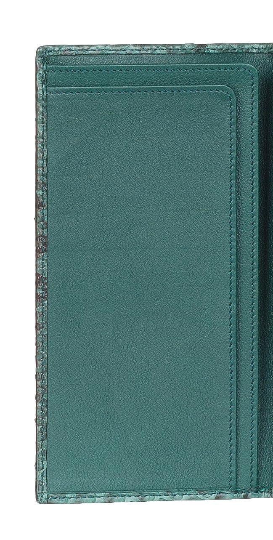 6c19c484dd80 Amazon.com: Gucci Green Python Snakeskin Long Bi Fold Wallet: Shoes