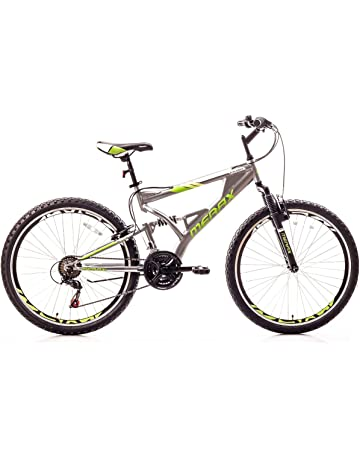 0de08ed8193 Merax Falcon Full Suspension Mountain Bike Aluminum Frame 21-Speed 26-inch  Bicycle