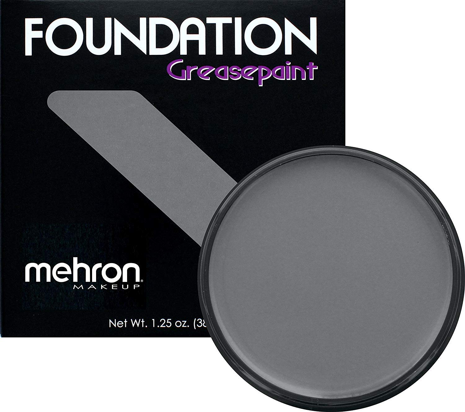 Mehron Makeup Foundation Greasepaint (1.25 ounce) (Monster Grey)
