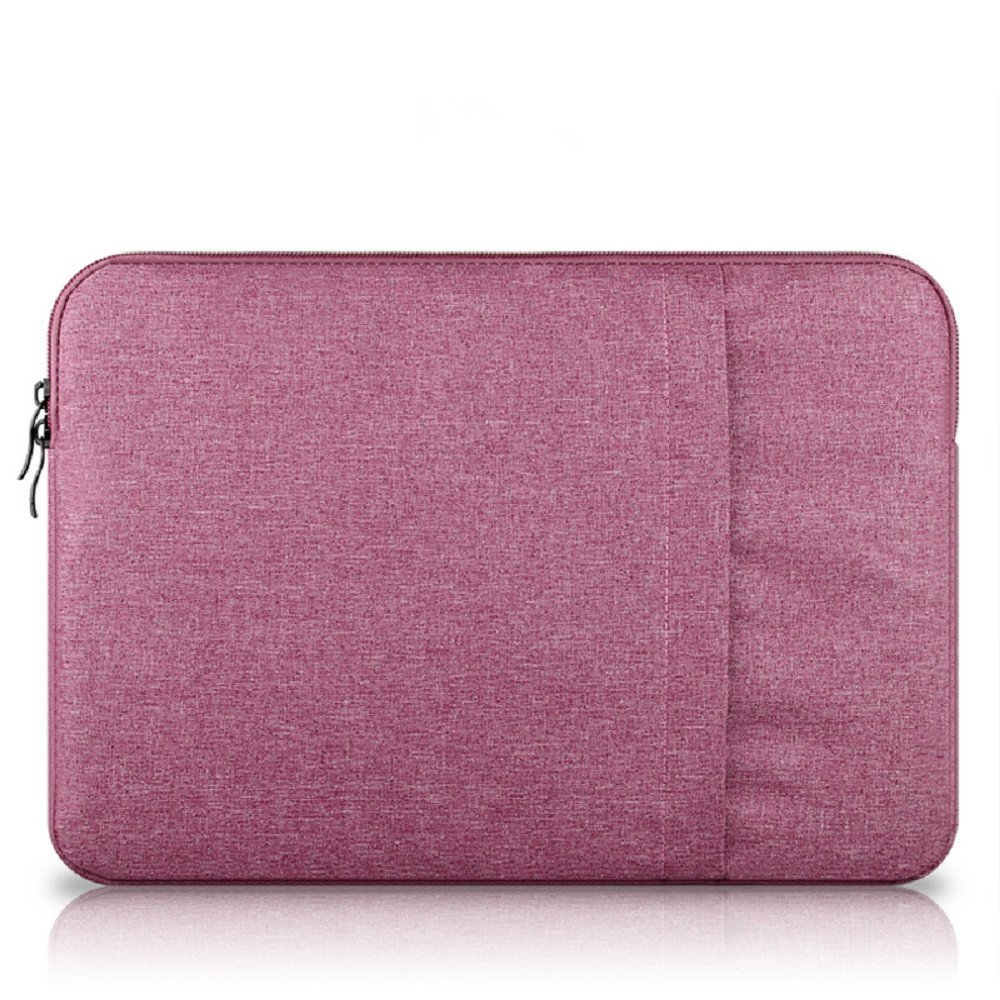 Funnylive Slim Laptop sleeve Case Carrying Bag Laptop Notebook Sleeve Slip Case Bag For Macbook Mac Air/Pro/Retina 11'' 13'' 15'' (red, 15.6'')