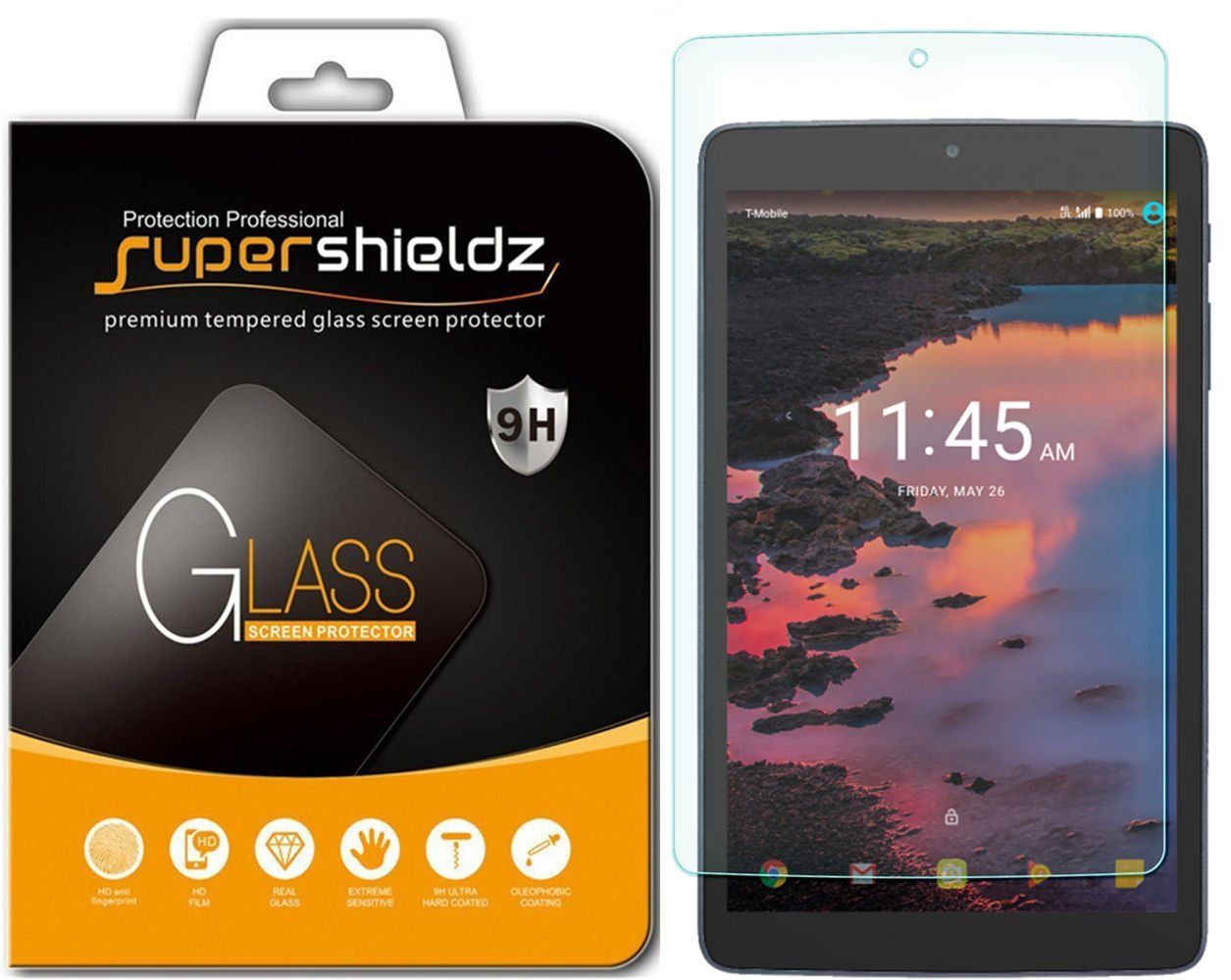 Vidrio Templado Alcatel A30 Tablet 8 Inch A [2un] (74xksrvd)