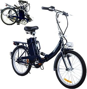 Bicicleta plegable para eléctrico, cravog Marco de Aluminio E-Bike ...
