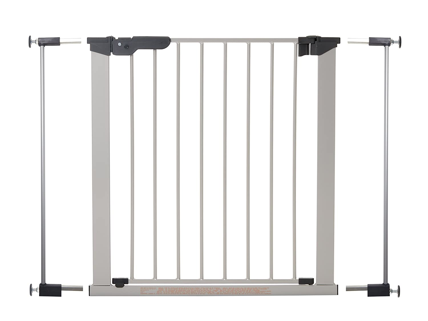 Babydan Premier True Pressure Fit Gate With Indicator Silver