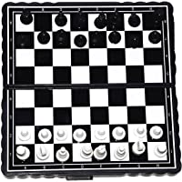 Grabdeal Foldable Mini Magnetic Chess Set Portable Wallet Pocket Chess Board Mind Games