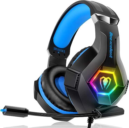Cuffie gaming per ps4 xbox one, multi-platform riduzione del rumore cuffie con microfono confortevole GM-6