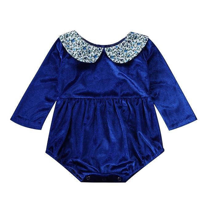 Amazon.com: Vestido de manga larga para bebé, niña, Peter ...