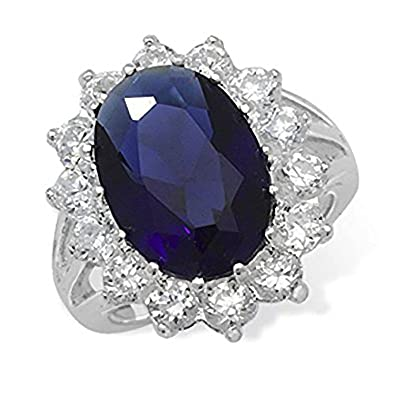 84f33b2ce8a Designer Inspirations Boutique  reg  Femme Argent 925 1000 Argent Blanc  Zirkonia