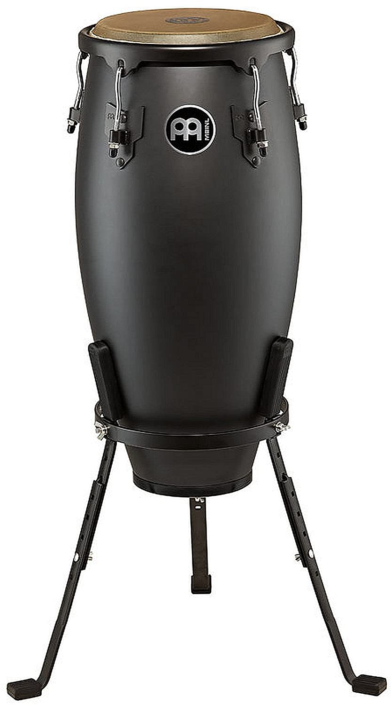 Meinl Percussion HC10PBK-M Headliner Designer Series 10-Inch Nino with Basket Stand, Phantom Black