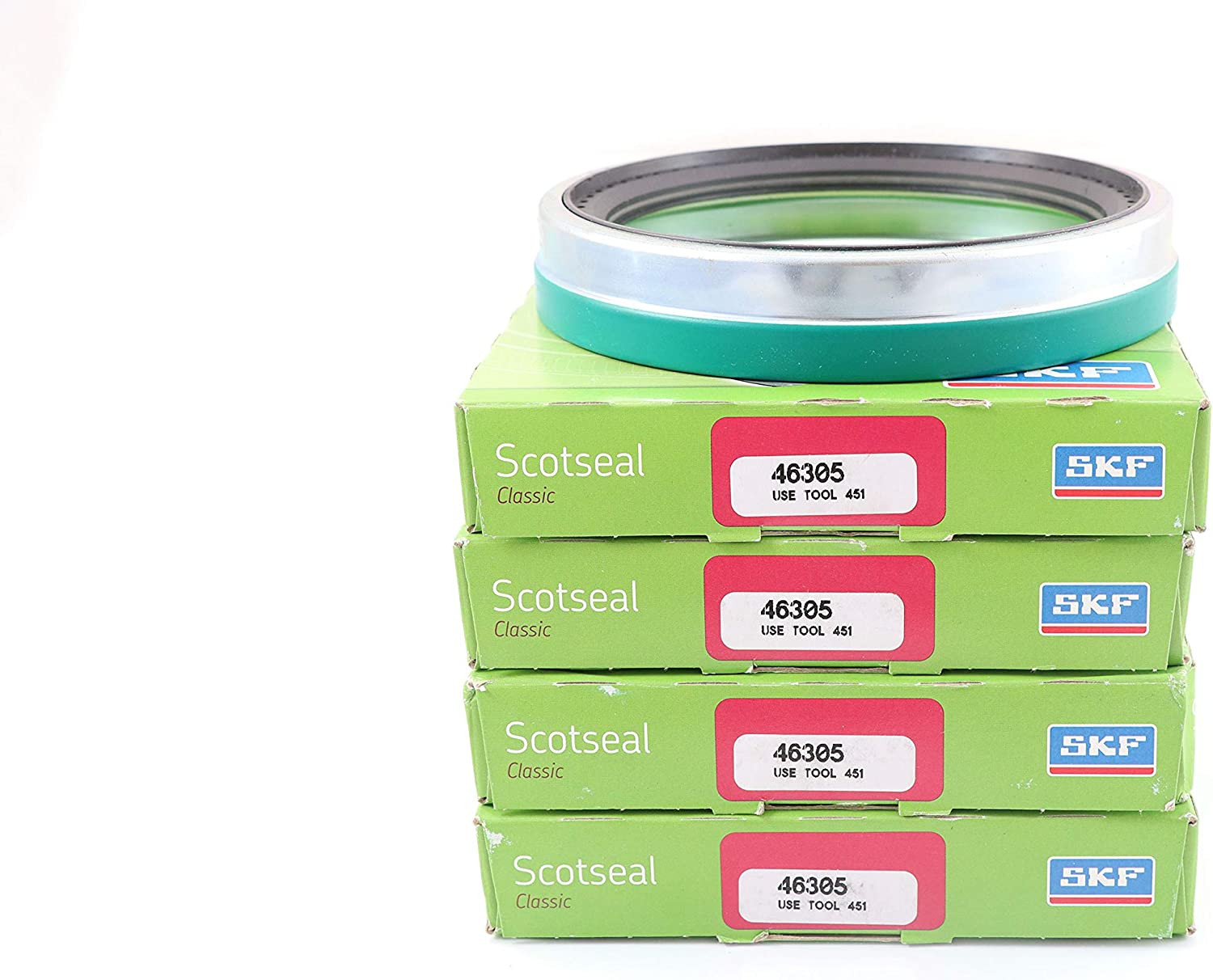 Set of 4 Wheel Seal CR Scotseal Classic Seal Advance Truck Parts SKF 46305