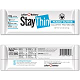 Julian Bakery® Stay Thin® Protein Bar (Organic Peanut Butter) (170 Cal)(20g Protein)(Egg White)(3 Net Carbs)(4…