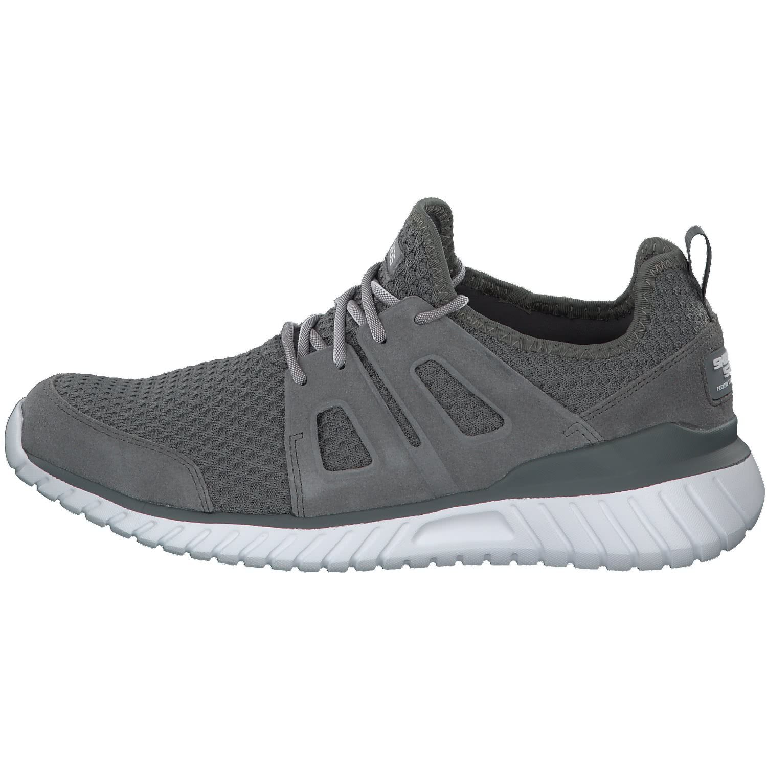 Skechers Herren Sneaker Rough Cut Grau Grau (Charcoal)