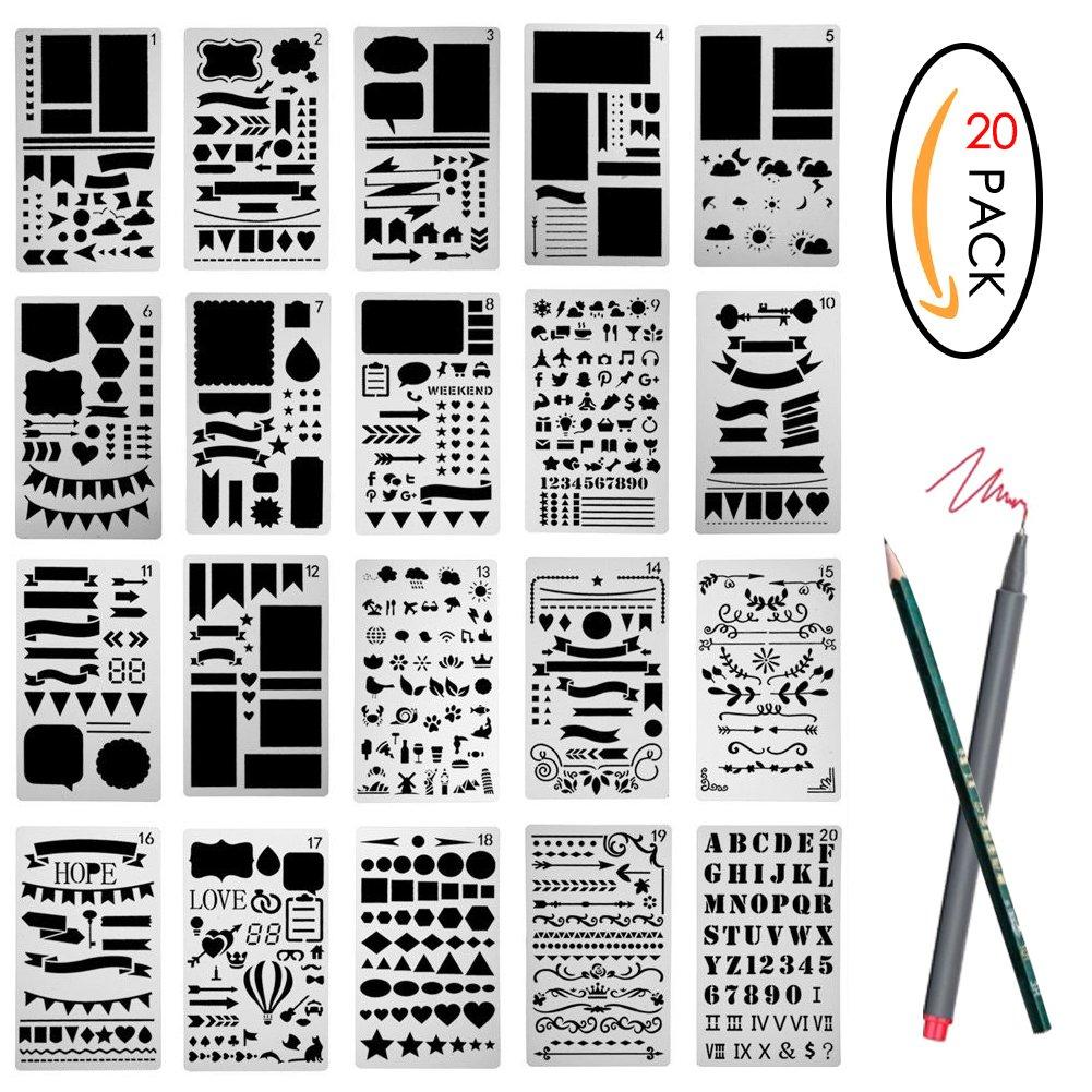 amazon co uk stencils paper u0026 paper crafts home u0026 kitchen