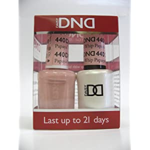 DND *Duo Gel* (Gel & Matching Polish) Spring Set 440 - Papaya Whip