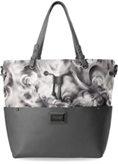 Nubuk Handtasche Monnari elegante Shopper Tasche Damentasche - Graphit Monnari MixxP
