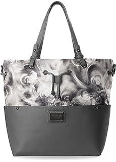 Nubuk Handtasche Monnari elegante Shopper Tasche Damentasche - Graphit Monnari