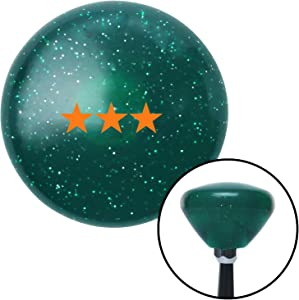 American Shifter 207036 Green Retro Metal Flake Shift Knob with M16 x 1.5 Insert (Orange Vice Admiral)