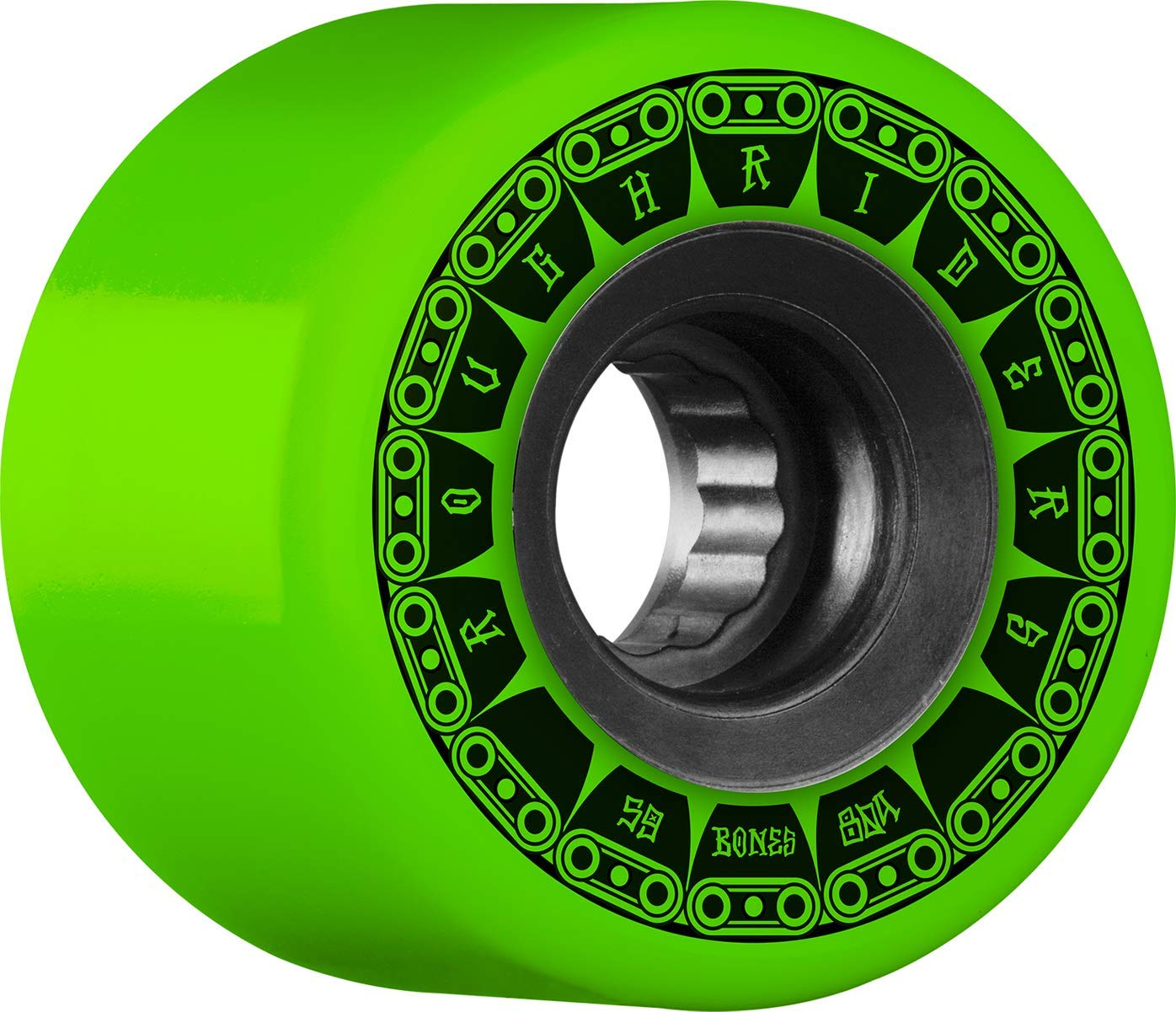 Bones Rough Riders Tank 56mm 80A - Green by Bones Wheels