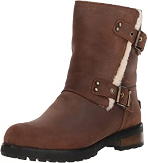 Australia Femme Leather Lorna Bottes Suede Waterproof Ugg PzqxC8wP