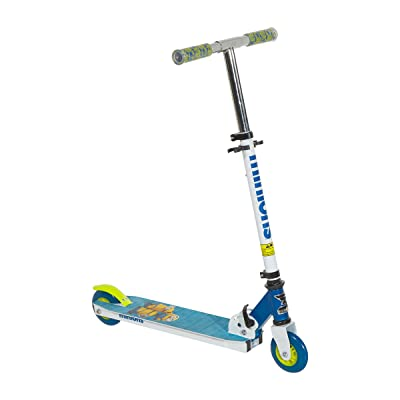 "Minions 8004-07TJ Scooter, 4"", White/Blue/Yellow : Sports & Outdoors"
