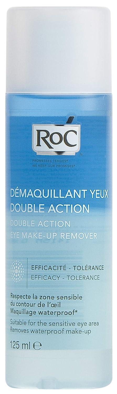 ROC - Loción Desmaquillante de Ojos, Doble Acción Bifásico, 125 ml