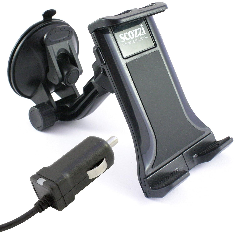 DeineHuelle Coche Soporte de coche con cable para Sony Xperia Z5/Z5 Premium/Z5 Compact/Z3/Z3 + Plus/Z3 Compact/Z2/Z1/Z1 Compact/Z/Z Ultra/parabrisas ...