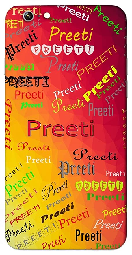 Preeti Love Name Sign Printed All Over Customize Personalized Protective