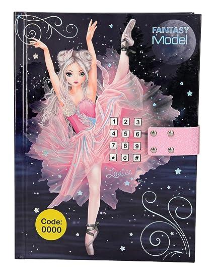 Depesche 10196 Diario con código Secreto y Sonido Fantasy Model