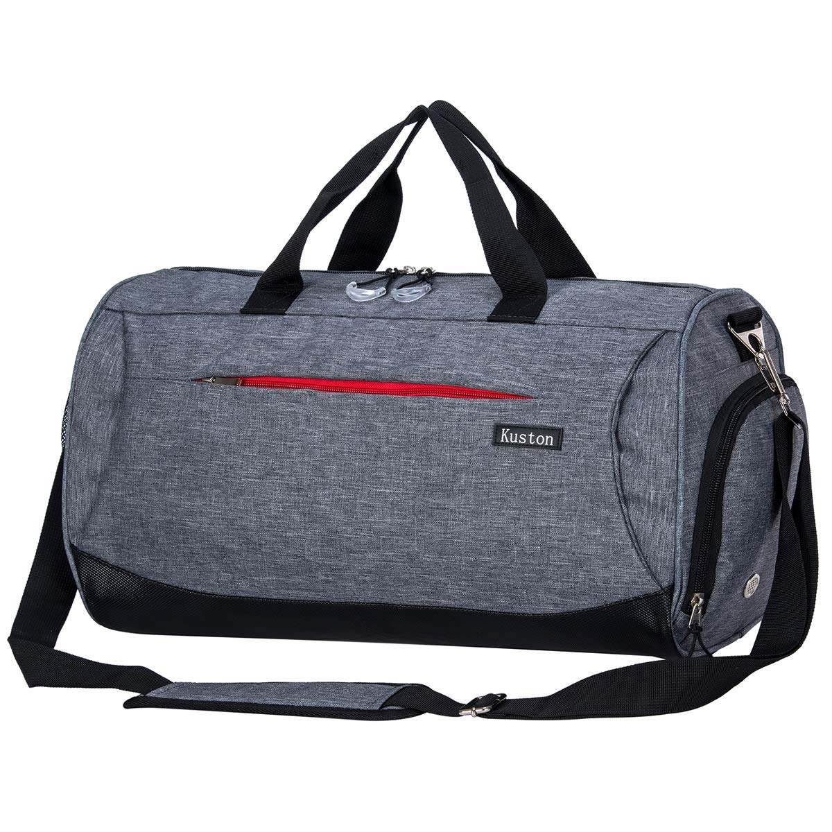 b7cc7f228329 Kuston Sports Gym Bag with Shoes Compartment Travel Duffel Bag for Men and  Women product image