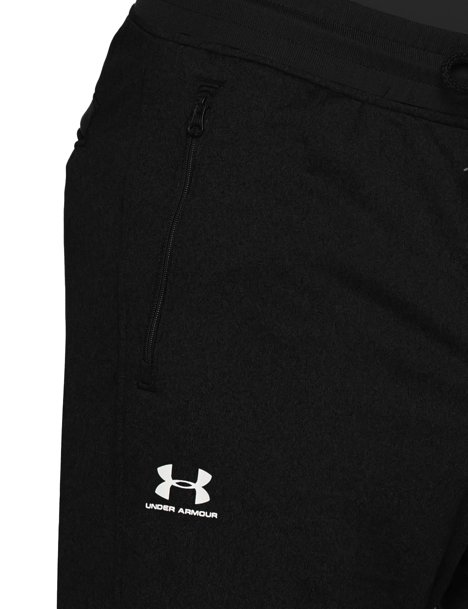 Under Armour Men's Sportstyle Jogger Pants, Black /White, XXX-Large Tall by Under Armour (Image #6)