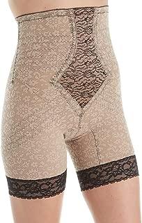 product image for Rago Hi Waisted Long Leg Shaper Shapewear - 6207 (XX-Large, Mocha/Black)