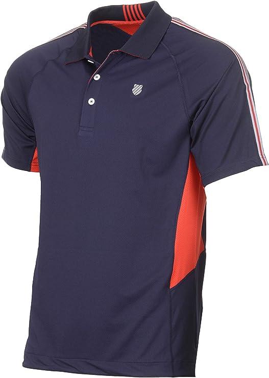 K-Swiss Heritage Polo de Tenis, Hombre, Marino, M: Amazon.es ...