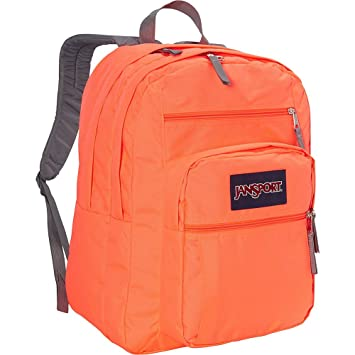 premium selection b0d3e b9de7 JanSport Big Student Polyester 31 Ltrs Tahitian Orange School Backpack  (JS00TDN70D5)  Amazon.in  Bags, Wallets   Luggage