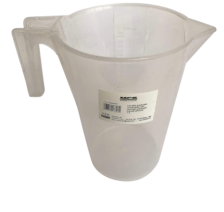 Melchioni 380005031/Jarra graduada Profesional de 1/litro dosificador y Recipiente